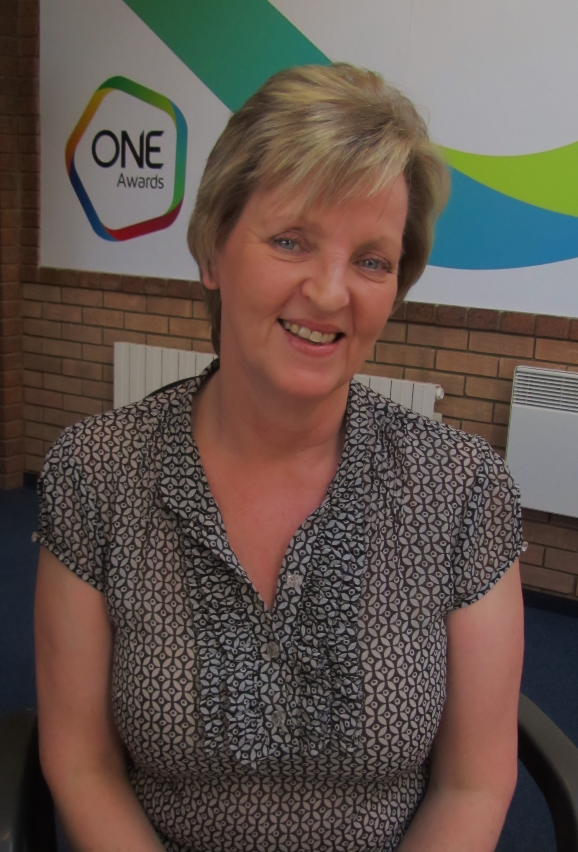 Tracey Williams, Receptionist at One Awards