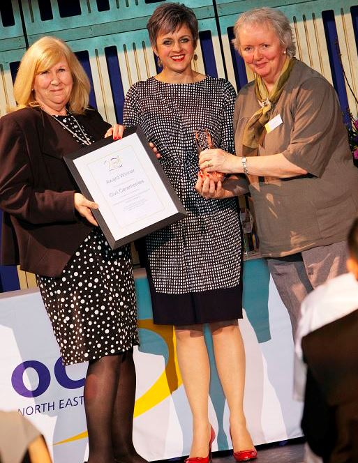 Civil Ceremonies Ltd, Outstanding Contribution to Learning Centre Award