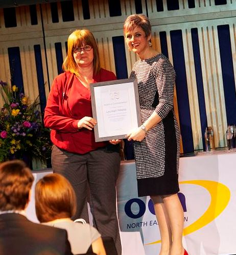 Laurean Heslop, Life-changing Learning Commendation