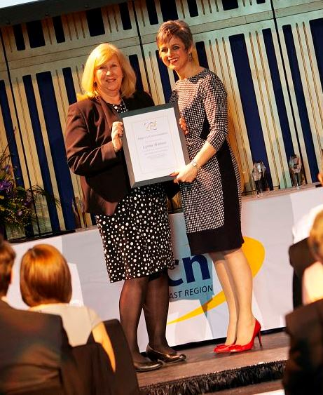 Anne Barber on behalf of Lynne Watson, Life-changing Learning Commendation