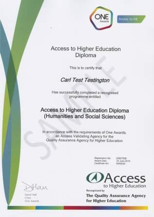 certification and replacement certificates one awards