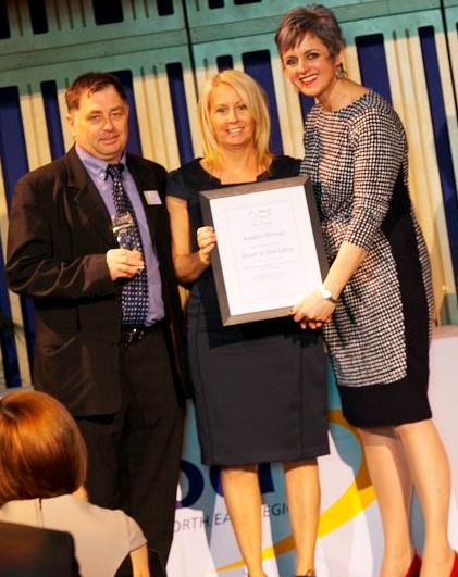 Gail & Stuart Laing, Outstanding Contribution to Learning Tutor Award